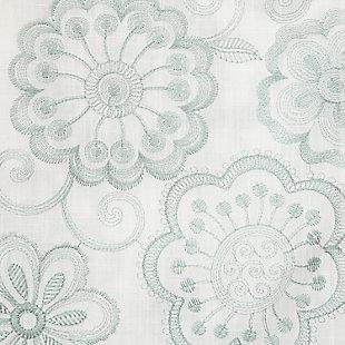 "Elaine 84"" Floral Panel Curtain, , large"