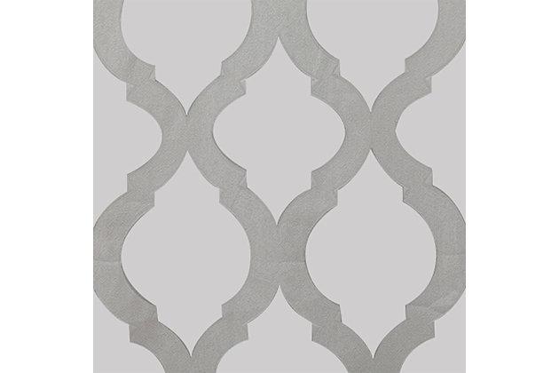 """Erika 84"""" Sheer Jacquard Panel Curtain, , large"""