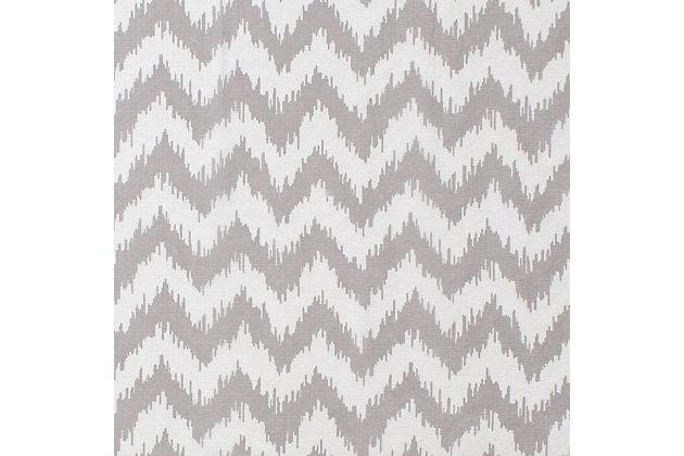 "Lyra 84"" Sheer Chevron Panel Curtain, , large"