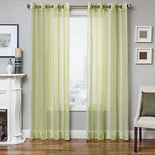 "Harbor 84"" Sheer Panel Curtain, , rollover"