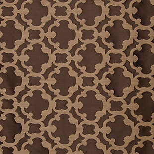 "Peyton 84"" Jacquard Tile Panel Curtain, , large"