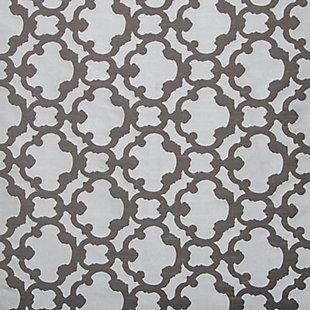 """Peyton 84"""" Jacquard Tile Panel Curtain, , large"""