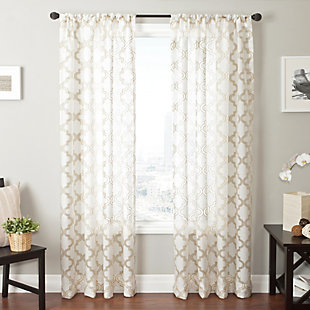 "Presidio 84"" Sheer Panel Curtain, , large"
