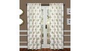 "Tropic 84"" Palm Panel Curtain, , large"