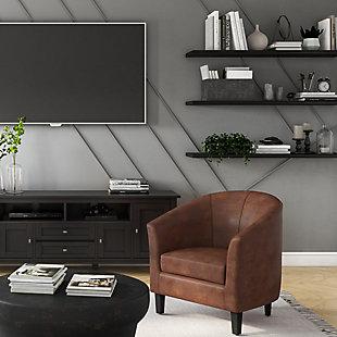 Simpli Home Austin Tub Chair, , rollover