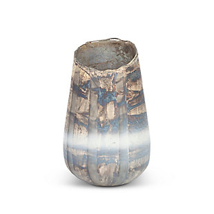 The Gerson Company Textured Glass Decorative Vase, , large