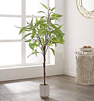 "Safavieh Faux Eucalyptus 49"" Potted Tree, , large"