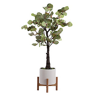 "Safavieh Faux Eucalyptus 34"" Potted Tree, , large"