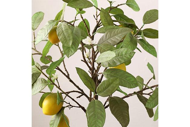 Safavieh Faux Lemon Potted Tree, , large