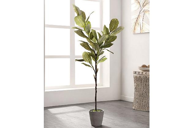Safavieh Faux Magnolia Potted Tree, , large