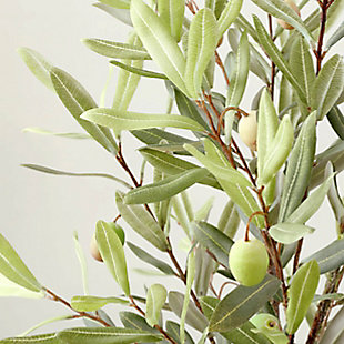 Safavieh Faux Olive Potted Tree, , large