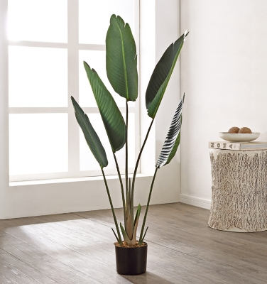 Safavieh Faux Gladiolus Potted Plant, , large