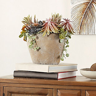 Safavieh Faux Succulent Potted Plant, , rollover
