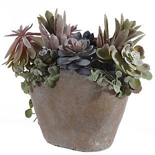 Safavieh Faux Succulent Potted Plant, , large