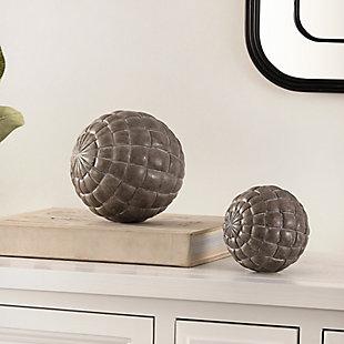 Safavieh Henla Set of 2 Decorative Ball, , rollover