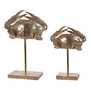 Safavieh Conra Set of 2 Crab Table Decor, , large