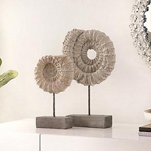Safavieh Lena Set of 2 Conch Shell Table Decor, , rollover
