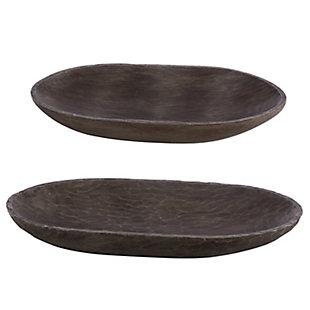 Safavieh Trellen Set of 2 Wood Decorative Bowls, , large
