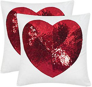 Safavieh Sweet Heart Pillow, , large