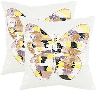 Safavieh Papillon Pillow, , large