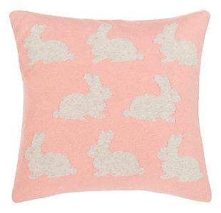 Safavieh Bunny Hop Knit Pillow, , large
