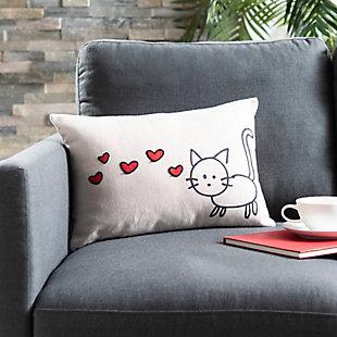 Safavieh Kitty Love Pillow, , rollover