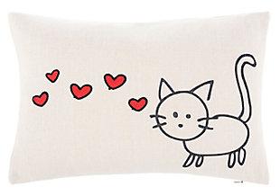 Safavieh Kitty Love Pillow, , large