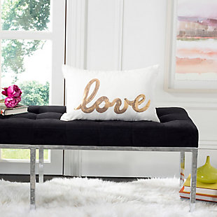 Safavieh First Comes Love Pillow, , rollover