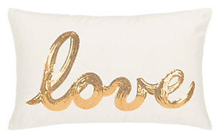 Safavieh First Comes Love Pillow, , large