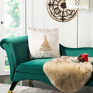 Safavieh Enchanted Evergreen Pillow, , rollover