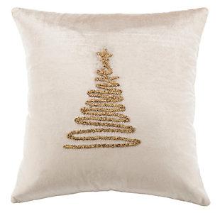 Safavieh Enchanted Evergreen Pillow, , large