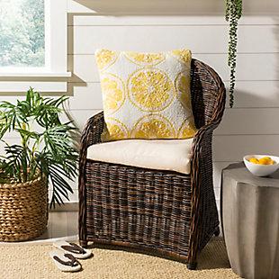 Safavieh Lemon Squeeze Pillow, , rollover