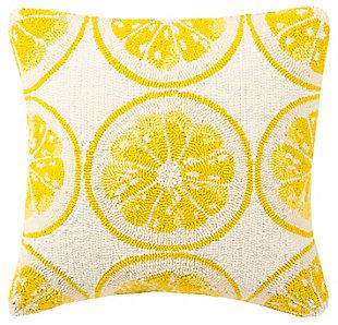Safavieh Lemon Squeeze Pillow, , large