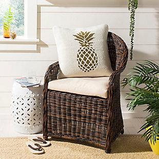 Safavieh Pure Pineapple Pillow, , rollover