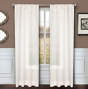 "Bizou 96"" Sheer Panel Curtain, , rollover"