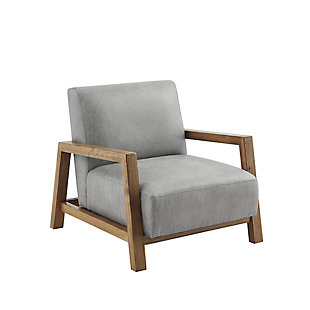 INK+IVY Easton Accent Chair, Gray, large