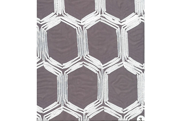 """Rochelle 96"""" Sheer Panel Curtain, , large"""