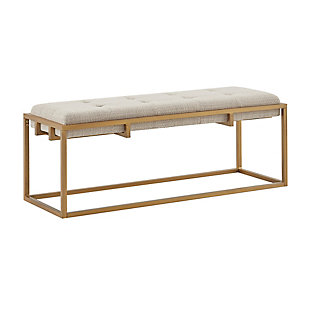 Madison Park Greenwich Accent Bench, , large