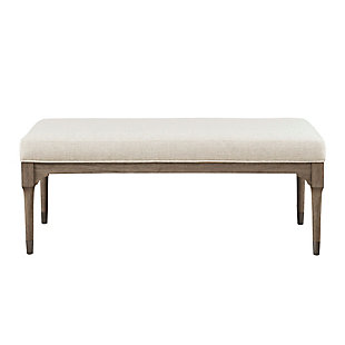 Madison Park Montaine Accent Bench, , large