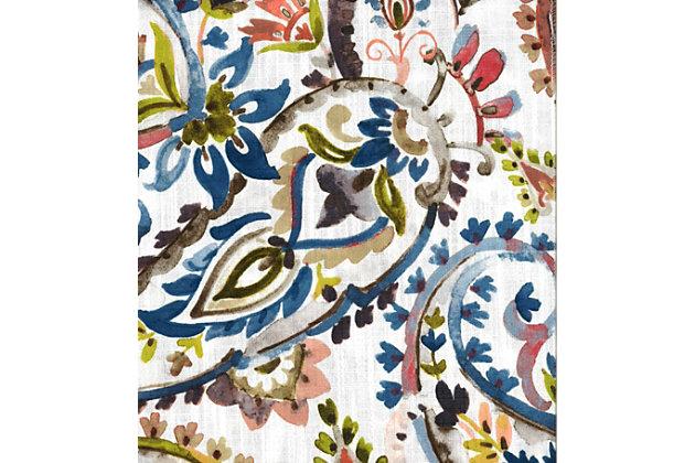 "Carlo 96"" Paisley Panel Curtain, , large"