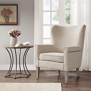 Madison Park Colette Accent Wingback Chair, , rollover