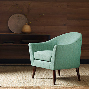 Madison Park Grayson Accent Chair, Green, rollover