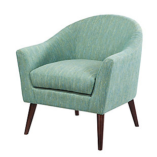 Madison Park Grayson Accent Chair, Green, large