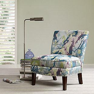 Madison Park Hayden Slipper Accent Chair, Multi, rollover