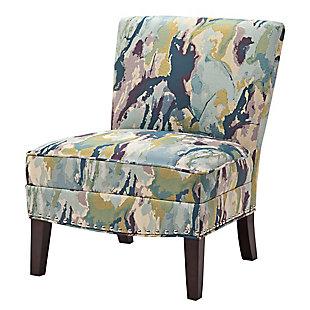 Madison Park Hayden Slipper Accent Chair, Multi, large