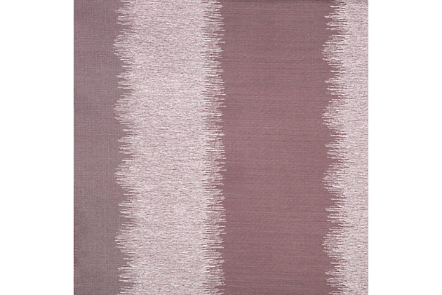 "Fantasia 84"" Jacquard Ikat Panel Curtain, Amethyst, large"
