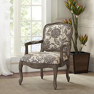 Madison Park Monroe Camel Back Chair, Multi, rollover