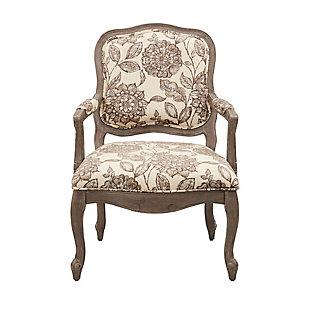 Madison Park Monroe Camel Back Chair, Multi, large