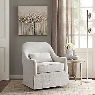 Madison Park Theo Swivel Glider Chair, , rollover