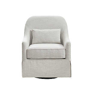 Madison Park Theo Swivel Glider Chair, , large